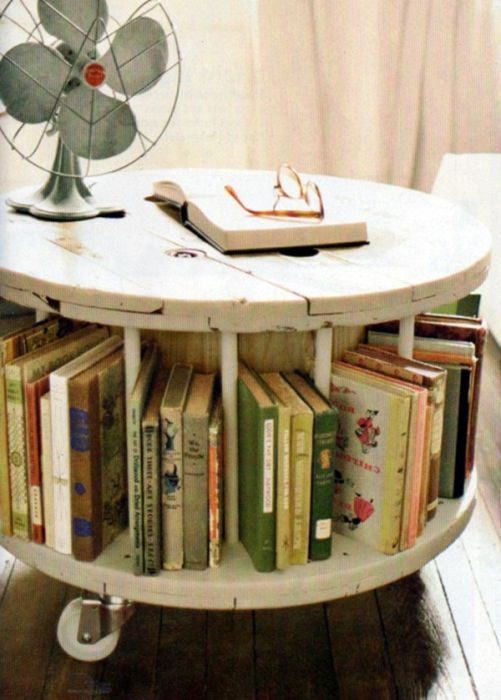 Forrás: http://www.apartmenttherapy.com/cable-spool-tablegood-idea-153302